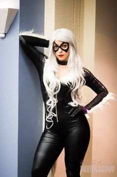 Marvel Comics: Spiderman. Character: Black Cat 'aka' Felicia Hardy. Cosplayer: Jackie Fiallo 'aka' JSG Cosplay 'aka' Justcuzimspidergirl. Event: Florida SuperCon 2014. Photo: Irma Gutierrez Sanchez.