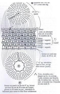 Crochet Dollies, Easter Crochet, Crochet Lace, Egg Chart, Crochet Stitches Chart, Happy Easter, Easter Eggs, Crochet Projects, Projects To Try