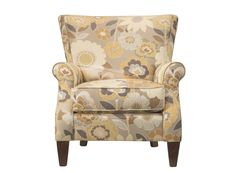 Barrow Accent Chair | Give your living room a feeling of refinement with this accent chair.