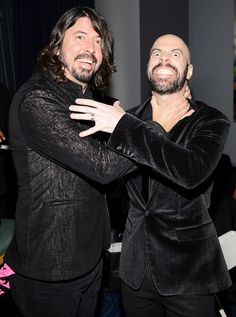 Dave Grohl and Chris Daughtry attend the 2013 American Music Awards on November 24, 2013 in Los Angeles, California. | Billboard