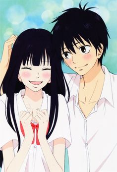 kimi ni todoke such a wonderfull manga that make u blush and  give u countless heart attacks かわいいです