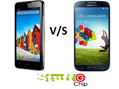 Check out the comparision between S4 and Micromac Canvas A116 HD