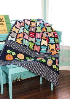 Bee In My Bonnet: The Quilty Fun Sew Along - Week 15 - Butterflies!!! ...