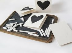 10. Cards | 33 Things You Can Turn Into Chalkboards