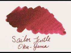 Ink Spot: Sailor Jentle Four Seasons Oku-Yama | The Pen Habit