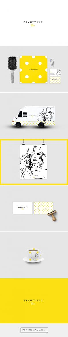 Beauty Bar Bus Branding by AA Design | Fivestar Branding Agency – Design and Branding Agency & Inspiration Gallery