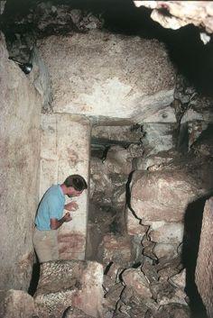 Alyattes tomb chamber: http://ids.lib.harvard.edu/ids/view/400955076