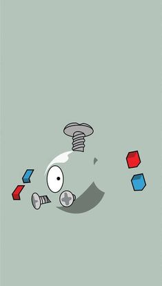 Magnemite floats in the air by emitting electromagnetic waves from the units at its sides. These waves block gravity. This Pokémon becomes incapable of flight if its internal electrical supply is depleted. Pokemon Go, Ekans Pokemon, Pikachu, Wallpapers En Hd, Gaming Wallpapers, Pokemon Lock Screen, Pokemon Backgrounds, Pokemon Universe, Cute Pokemon Wallpaper