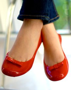 f7c82b7886df cute red jelly shoes- I want in all colors!