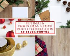 This listing is for a 60 Styled Christmas Stock Photography (landscape and portrait oriented) which you can use in your social media marketing, blog posts and on your website. This bundle also includes 15 Card / Invitation Mockups so it is perfect to showcase your artwork or design in your stationary shop.・Files are high resolution (300 DPI)・Most of the images are around 4000x6000 pixels (few will be smaller, minimum 3400x5100, still high resolution) Christmas Desktop, Stationary Shop, Nursery Frames, Invitation Mockup, Etsy Seo, Christmas Stationery, Branding Materials, Banner Images, Christmas Fashion