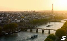 Paris, the cosmopolitan capital of France, is one of the largest agglomerations in Europe, with Paris from Mapcarta, the free map. Paris Skyline, Europe, France, Travel, Instagram, Pont Des Arts, Sun, Viajes, Destinations