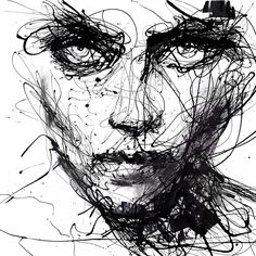 In Trouble, She Will by Agnes Cecile | Eyes On Walls