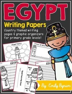 Egypt Writing Papers