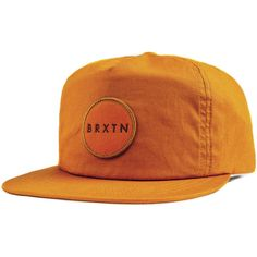 719d463b7db0a Brixton Meyer Snapback Hat ( 26) ❤ liked on Polyvore featuring accessories
