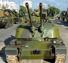 Cuban ZSU-57-2 AA tank Cuban Army, Warsaw Pact, Military Photos, Military Vehicles, Armored Vehicles, Cold War, Tanks, Countries, Gun