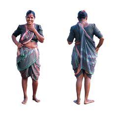 North Goa Style of sari