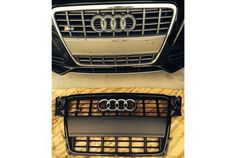 2012 B8 S4 Grill Chrome/Platinum Grey