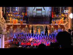 Himne de Catalunya al Palau de la Música Catalana