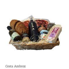 Cesta Ambroz Productos de Extremadura gourmet