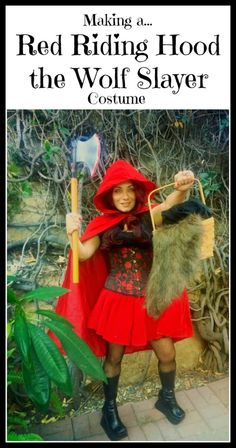 This is a guide about red riding hood the wolf slayer costume. Little Red Riding Hood is not just a helpless little girl in this costume, she is a wolf slayer.