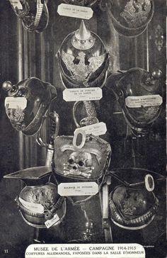 German Headwear of the First World War, 1914-1915, Musee de L'Armee (by drakegoodman)