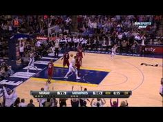 Watch Rudy Gay Fake Out Lebron James for the Dunk!