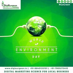 """""""The Earth is what we all have in common."""" - Wendell Berry #worldenvironmentday #CoronaWillEndSoon #StayHomeWithMe #FridayThoughts #GooglePartner DigiSurgeon Info Solutions Digital Marketing Agency CALL Now! 7905273410 