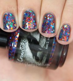 """CrowsToes """"Candied Brains Anyone?"""" over Orly """"Decoded"""""""