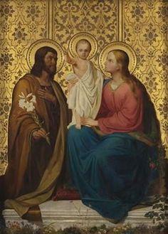 Ernst Deger (1809–1885): Sagrada Familia.