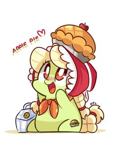 young granny smith by ~lLoserLife on deviantART
