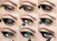 Макияж для зеленых глаз. 230 фотографий красивого мейкапа.