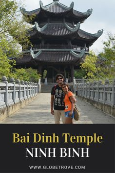 One of Ninh Binh's (Vietnam) popular attractions is Bai Dinh temple. It is hard not to see why ! I personal love the peace and serenity it has to offer.