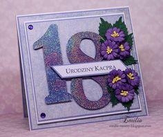 Kartka na 18 urodziny/Birthday card