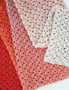 Crochet shawl. The Little Meringue Shawl, crochet pattern using Scheepjes Whirl. Crochet pattern by Happy in Red