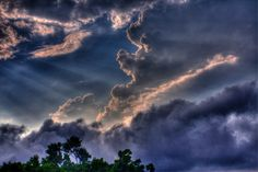 Those Rays and Thunderheads