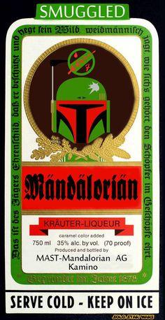 Mandalorian Liqueur