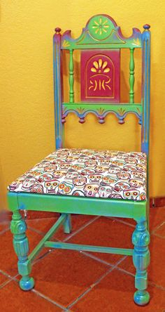 Chairall Gliding Chair Mexican Style Homes Furniture High Back Chairs Painted