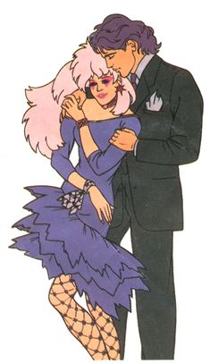 O my gosh, Jem was the ultimate cool girl to me on TV back then.  Jem and Rio
