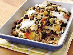 Receta de Enchiladas de Pollo con Frijoles | QueRicaVida.com