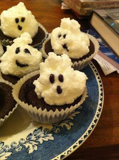 marshmallow ghosts syn free icing slimming world