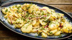 Potatissallad – ljummen med vinägrett eller fransk med kapris