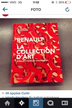 Renault art collection book