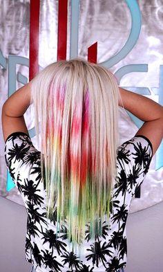 NEW TREND: Psychedelic Tie-Dye Haircolor Technique | Modern Salon