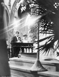JFK, then a senator from Massachusetts, married the beautiful socialite Jacqueline Bouvier on September 12, 1953 at St. Mary's Catholic Church in Newport, Rhode Island.