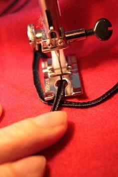 Tutoriel - appliquer de la soutache à la machine