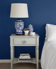 Can Classic Blue really be a trend? Most importantly does it even matter anymore? Read on for a new take on Classic Blue as well as other cool trends. Modern Light Fittings, Interior And Exterior, Interior Design, Blue Paint Colors, Palette, Blue Rooms, Room Inspiration, Bedroom, Plascon Paint