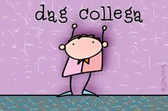"Gratis e-card: ""Dag+collega"""
