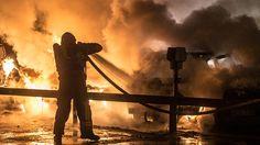 Asylsökande fick avslag av migrationsverket: Då tände han eld på asylboendet.
