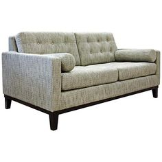slipcover only for lounge ii armless loveseat crate and barrel products