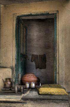 doorway, India